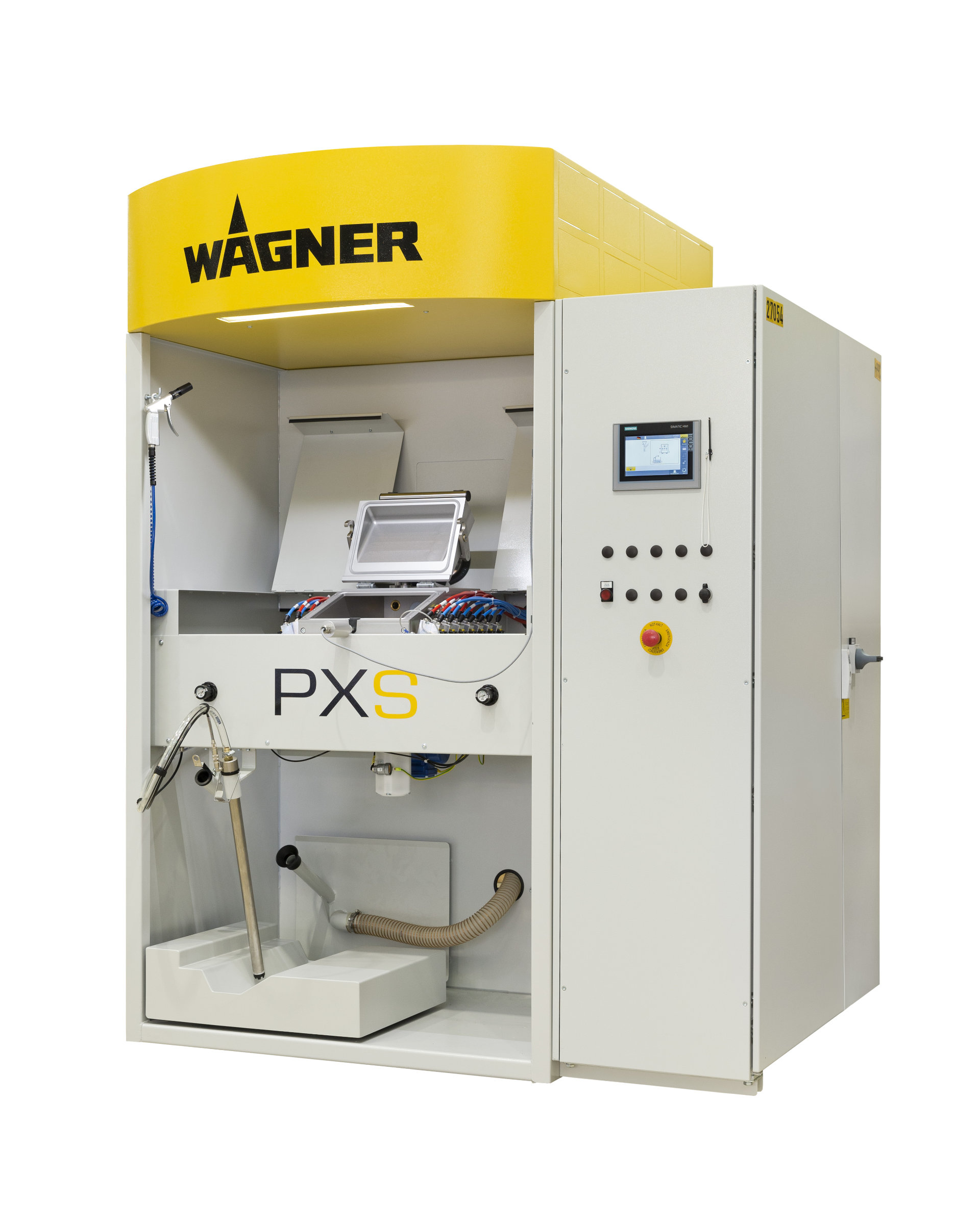 PXS powder center