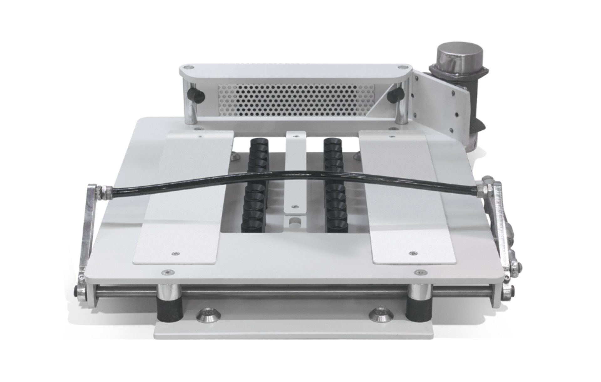 Container/box vibration table